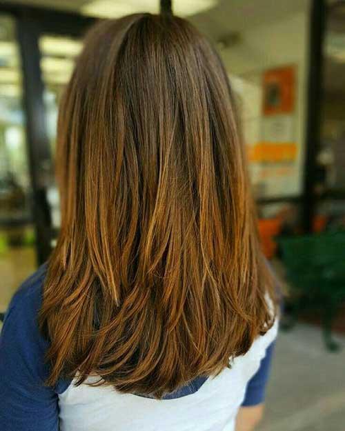 Medium Long Hairstyles-16