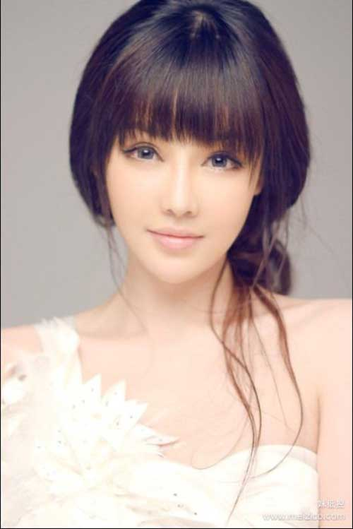 Chic Bangs With Different Hairdos Hairstyles Amp Haircuts