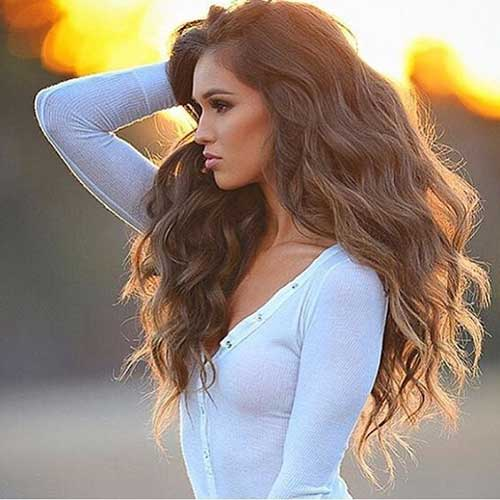 Trendy Wavy Hairstyles You Should See | Hairstyles & Haircuts 2016 ...
