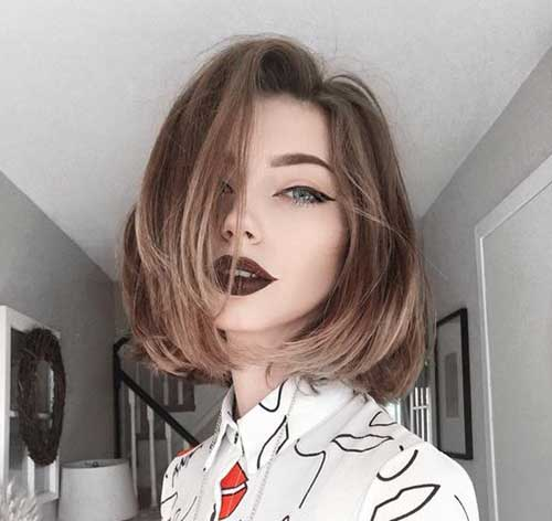 Long Bob With Cool Style Hairstyles