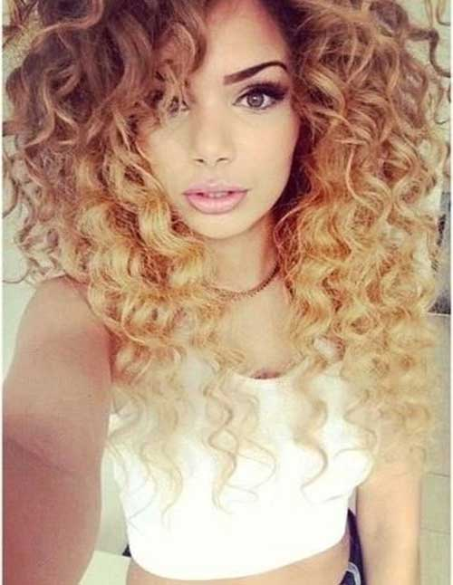 Ombre Color Hair Styles