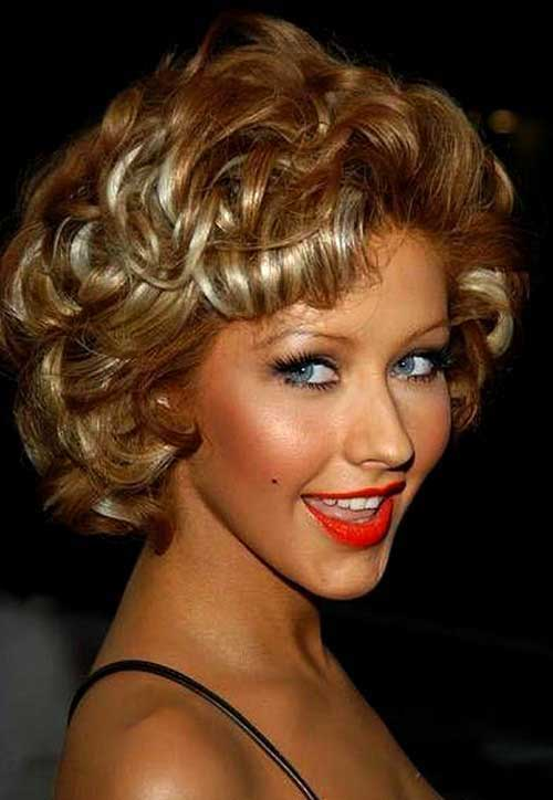 Party Hairstyles for Curly Hair-11