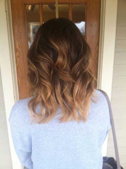 Today S Most Popular Balayage Ombre Hair Colors