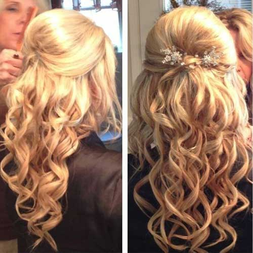 Party Hairstyles for Curly Hair-20