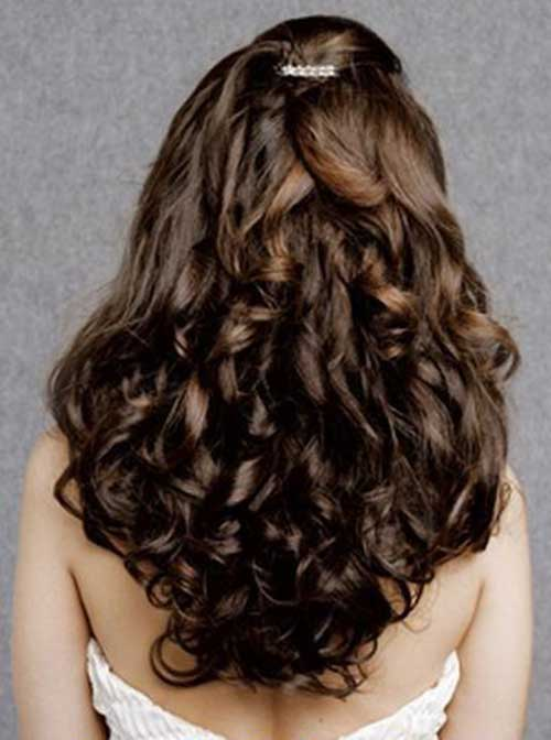 Party Hairstyles for Curly Hair-6
