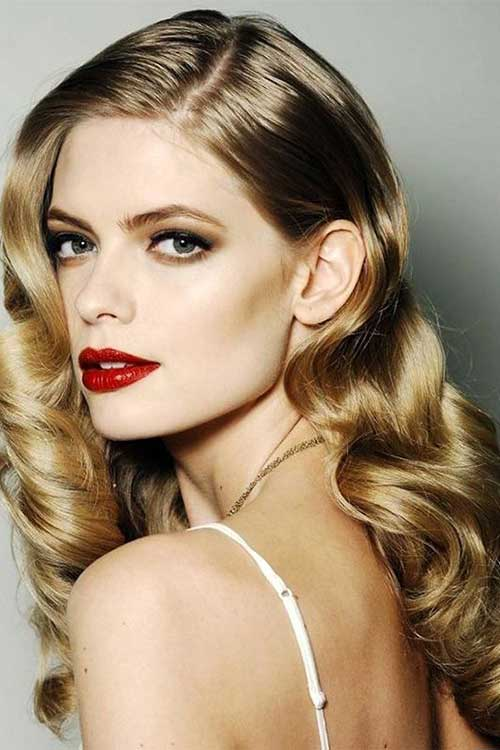 Party Hairstyles for Curly Hair-7