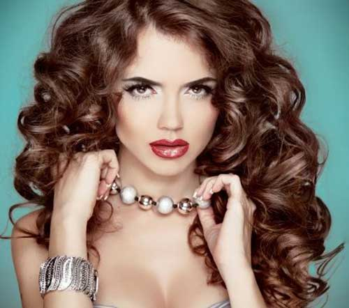 Party Hairstyles for Curly Hair-8