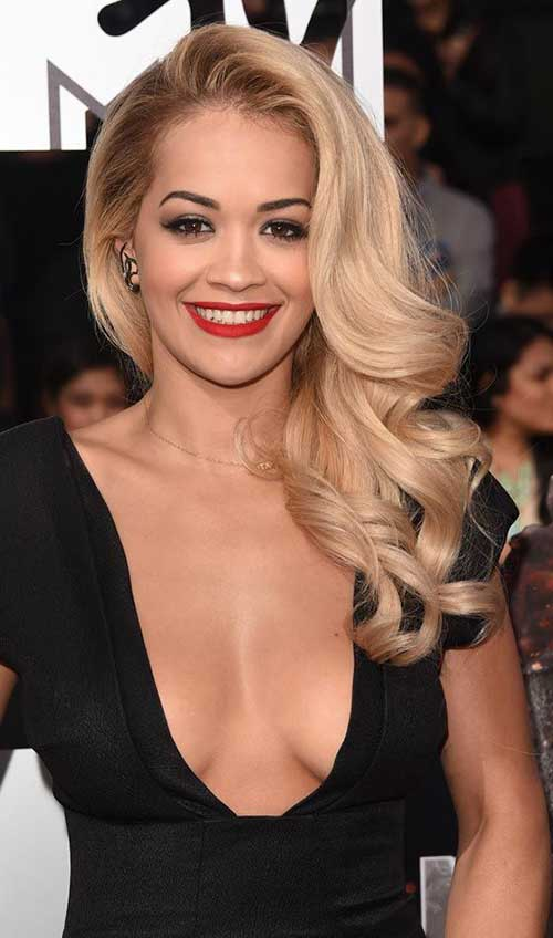 Party Hairstyles for Curly Hair-9