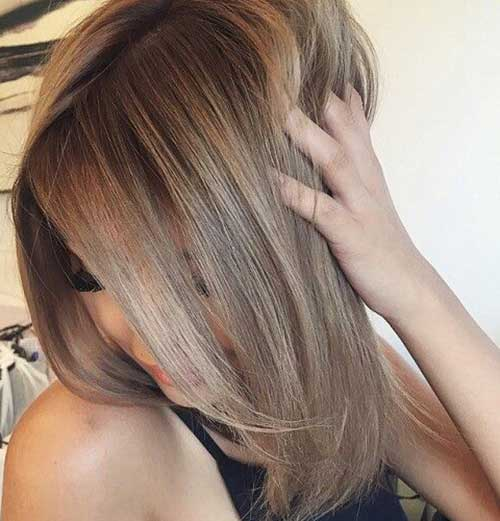 Long Dark Blonde Hairstyles