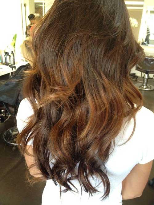 Wavy Long Hair Styles