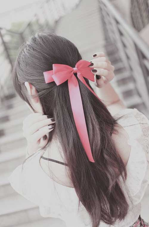 Hairstyles with Bows-10