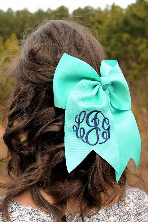 Hairstyles with Bows-11