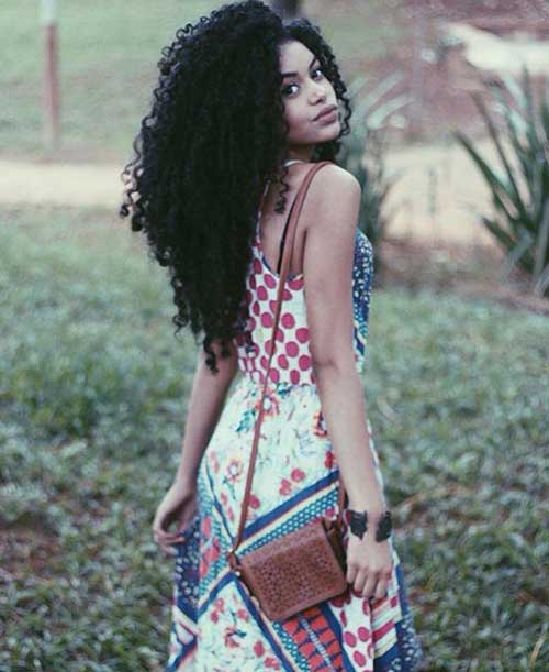 Long Natural Curly Hairstyles-11