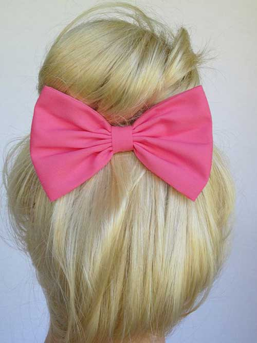 Hairstyles with Bows-13