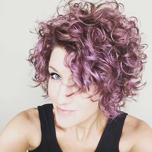 Light Curly Hair-13