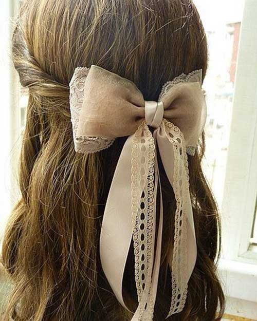 Hairstyles with Bows-14