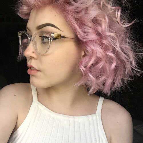 Light Curly Hair-14