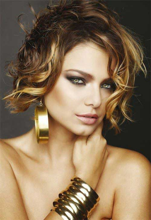 Hairstyles for Wavy Curly Hair-15