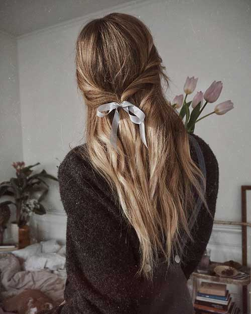 Hairstyles with Bows-15