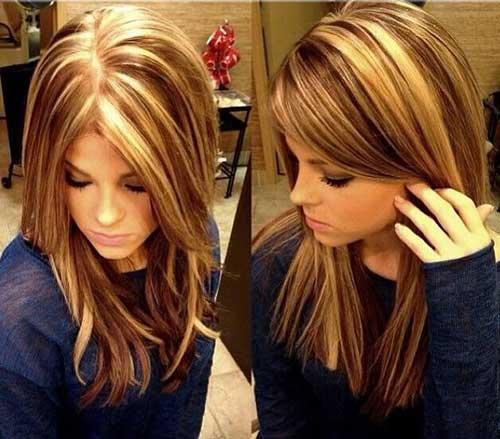 Medium Long Hair Styles-15