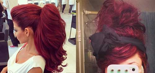 Red Long Hairstyles-16