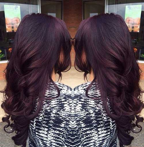 Hair Colour Ideas for Dark Hair-17