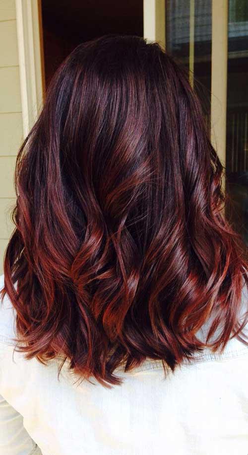 Medium Long Hair Styles-17