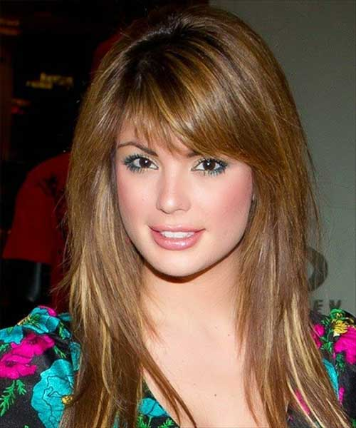 Long Hairstyles with Bangs 2015-18