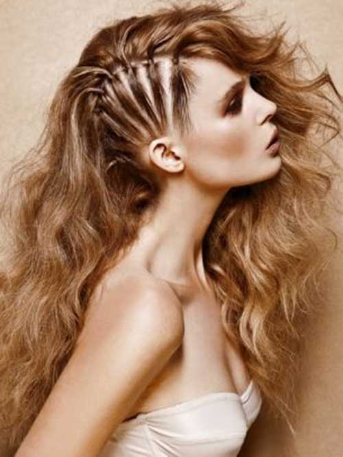 Punk Rock Hairstyles for Long Hair-18