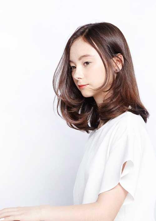 Medium Long Hair Styles-19