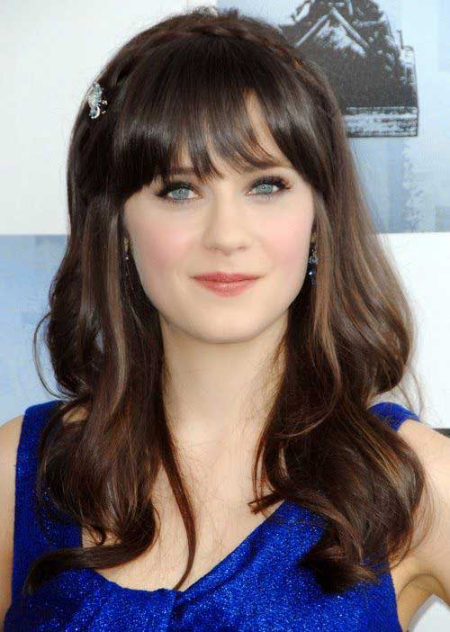 Long Hairstyles with Bangs 2015-20