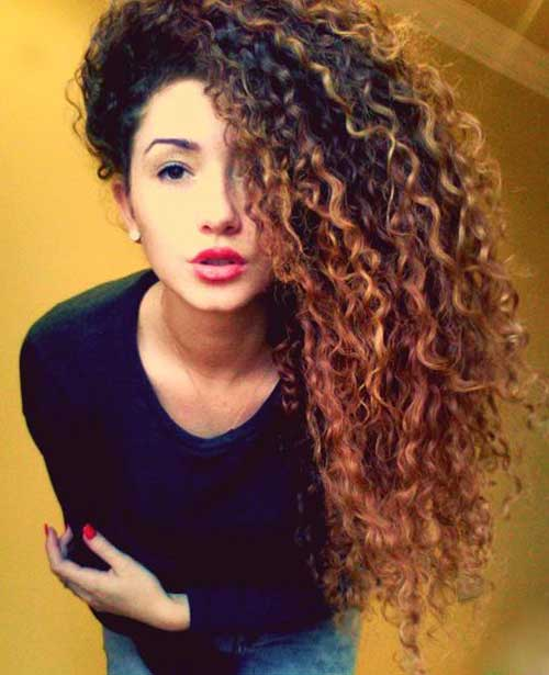 Long Natural Curly Hairstyles-20