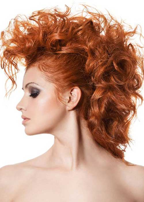 Punk Rock Hairstyles for Long Hair-20