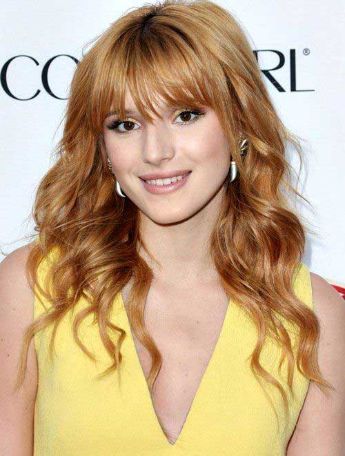 Creative Long Hairstyles 2016 With Bangs  Top 15 Most Fabulous Long Hairstyles