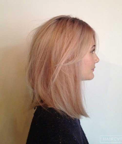 Medium Long Hair Styles-21