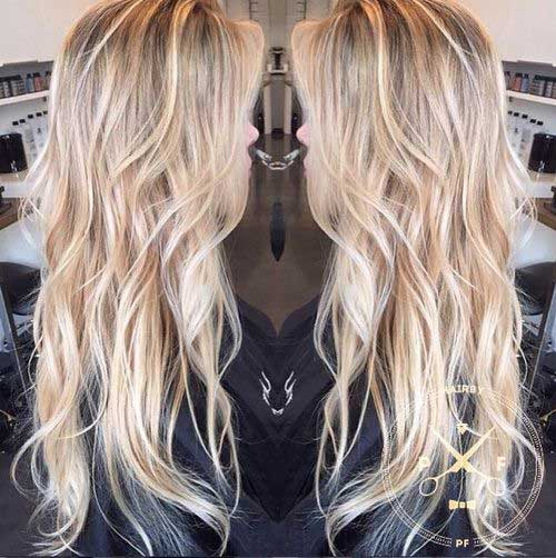 Long Blonde Hair Styles 120