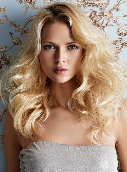 Hairstyles for Wavy Curly Hair-22