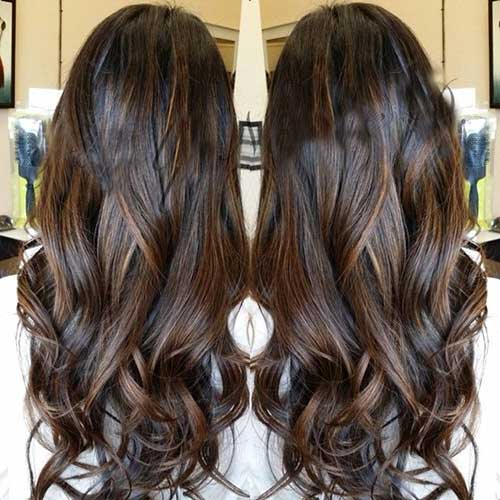 Hair Colour Ideas for Dark Hair-23