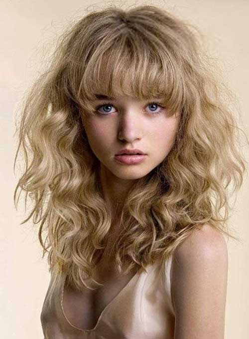 Hairstyles for Wavy Curly Hair-23