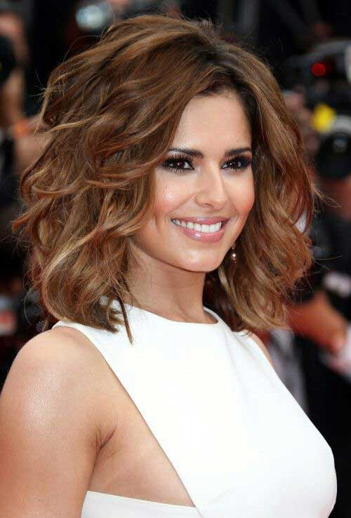 Hairstyles for Wavy Curly Hair-24