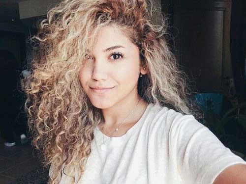 Light Curly Hair-26