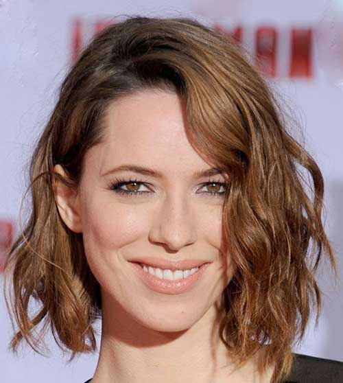 Hairstyles for Wavy Curly Hair-27
