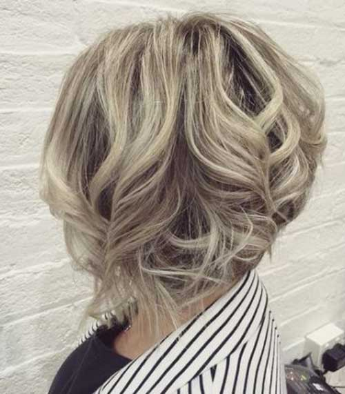Hairstyles for Wavy Curly Hair-28