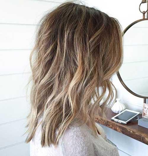 Medium Long Hair Styles-29
