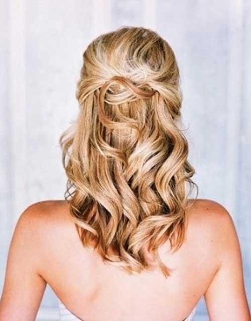 Medium Long Hair Styles-32