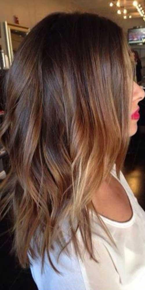 Medium Long Hair Styles-37
