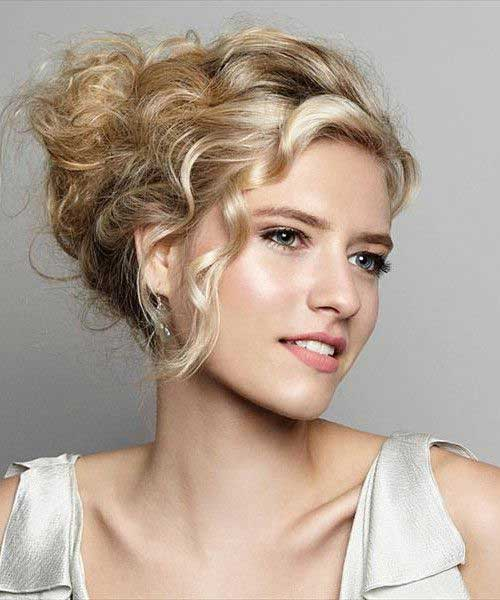 Hairstyles for Wavy Curly Hair-7