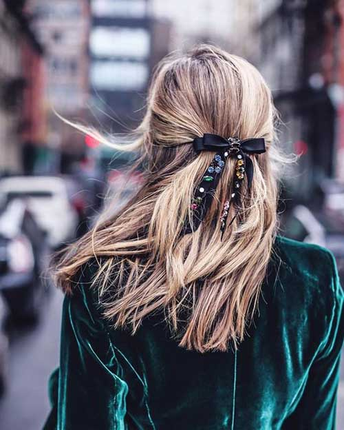 Hairstyles with Bows-7