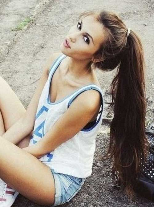 Ponytail Hairstyles-7