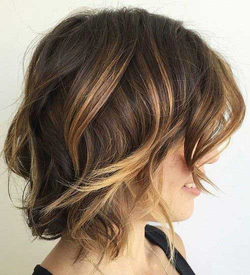 Hairstyles for Wavy Curly Hair-8